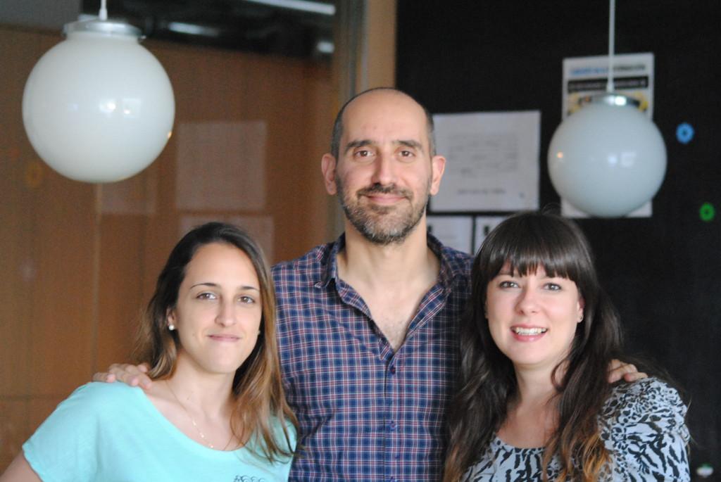 MEC Valeria Traid, Mauro Caputti y Bernarda Millan